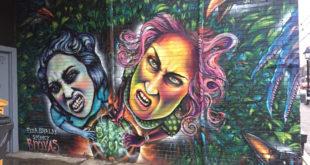 shalak attack art mural