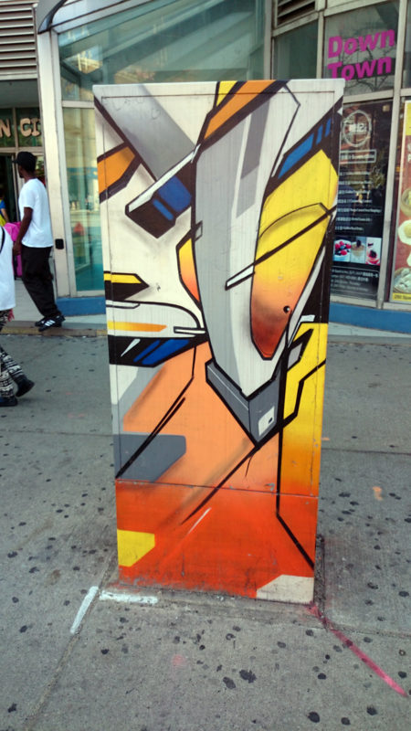Rebuilt Utility box by Mediah