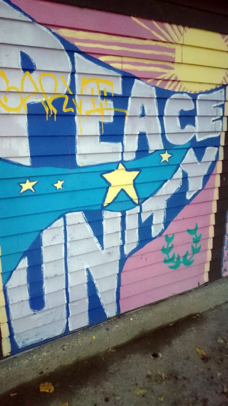 Peace & Unity Mural unknown