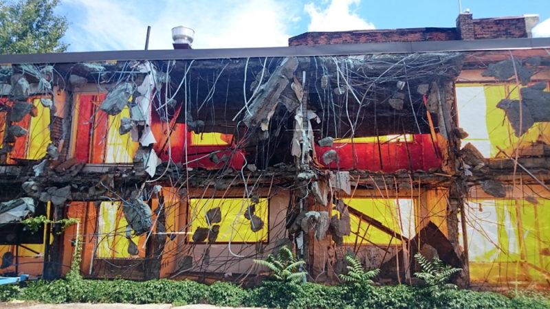 Demolition site Jihyun Jung