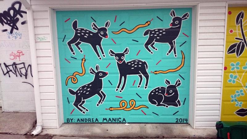Andrea Manica garage doors