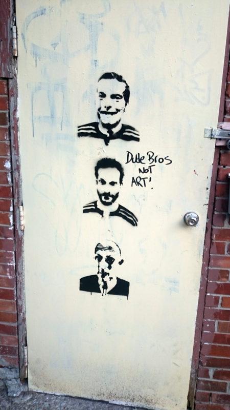 Character stencil doorway