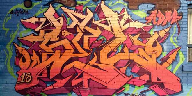 Original graffiti burner artwork