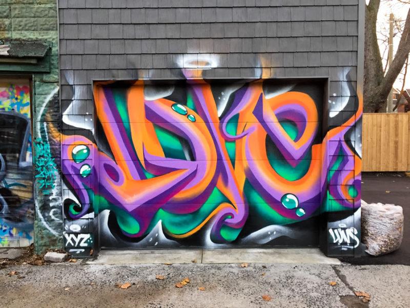 Garage Door Mural LuvSumone