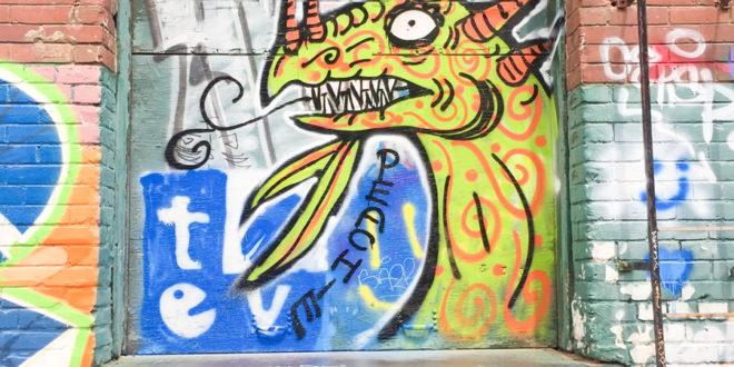Original Toronto Street Graffiti