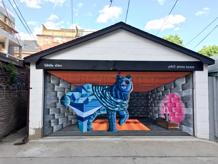 Garage door collaboration