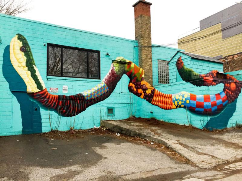 Birdo Artivism mural projec