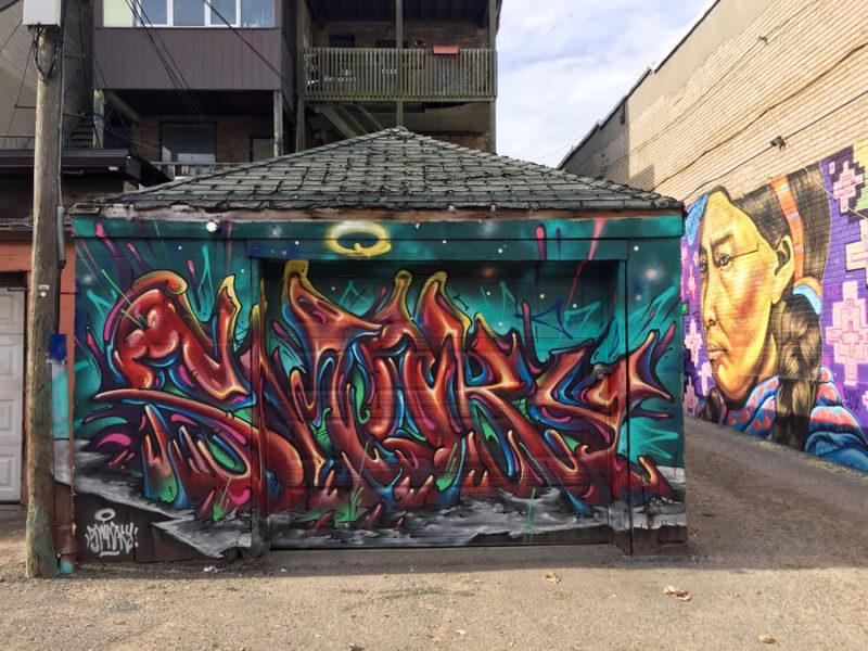Bruno Smoky Garage Door Mural
