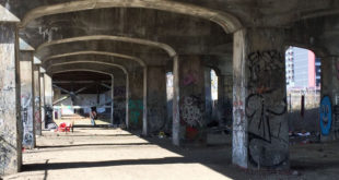 Creepy Aerosol Graff Underpass