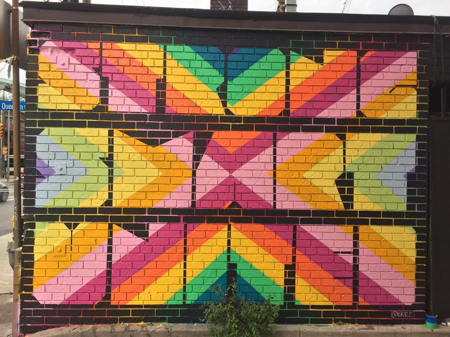 Women Paint Laneway Project - Bkez