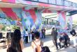 Ribbon Cutting Mural Event