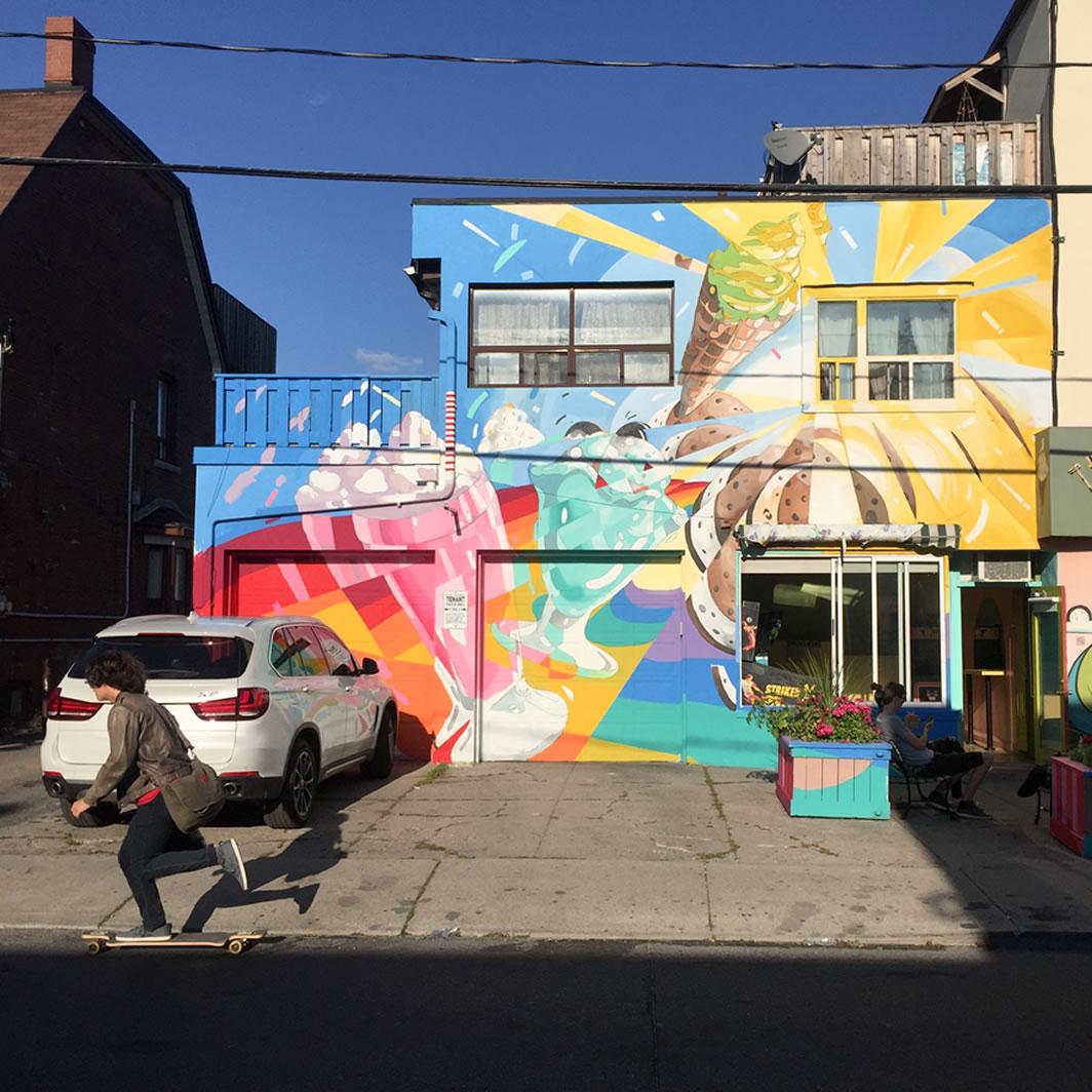 Jacqueline Comrie Garrido Mural