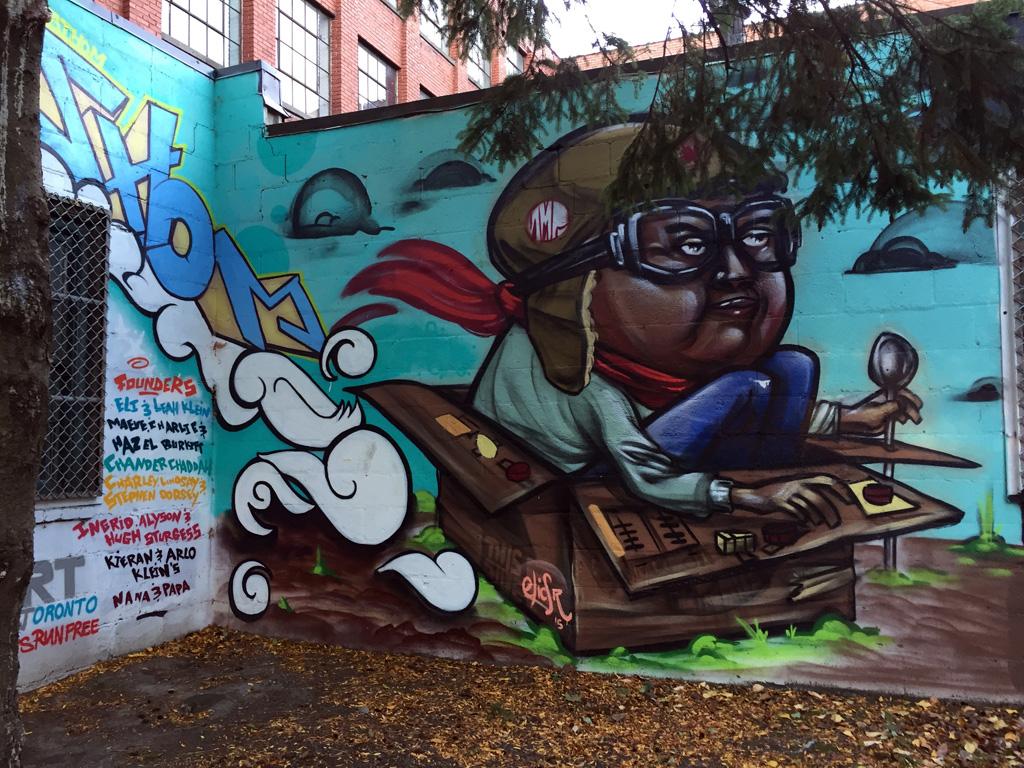 Toronto Graffiti Art Mural