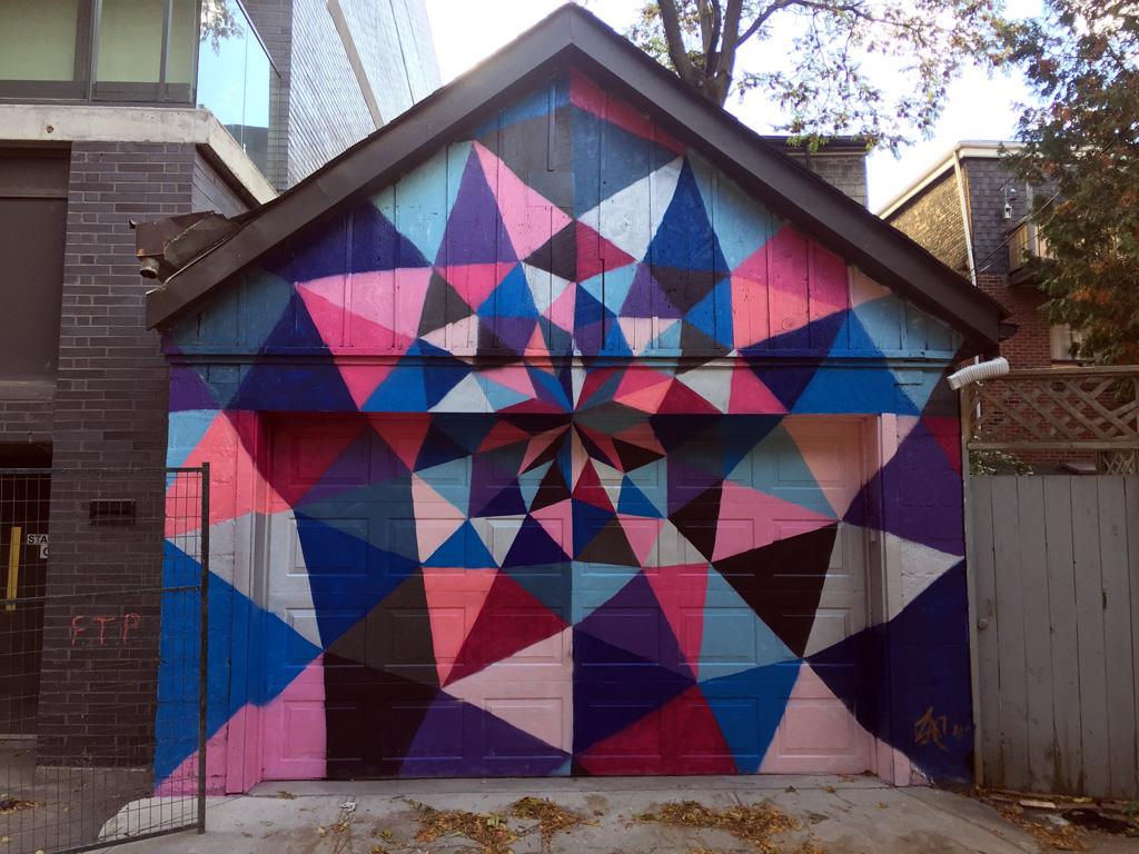 Toronto Graffiti Mural