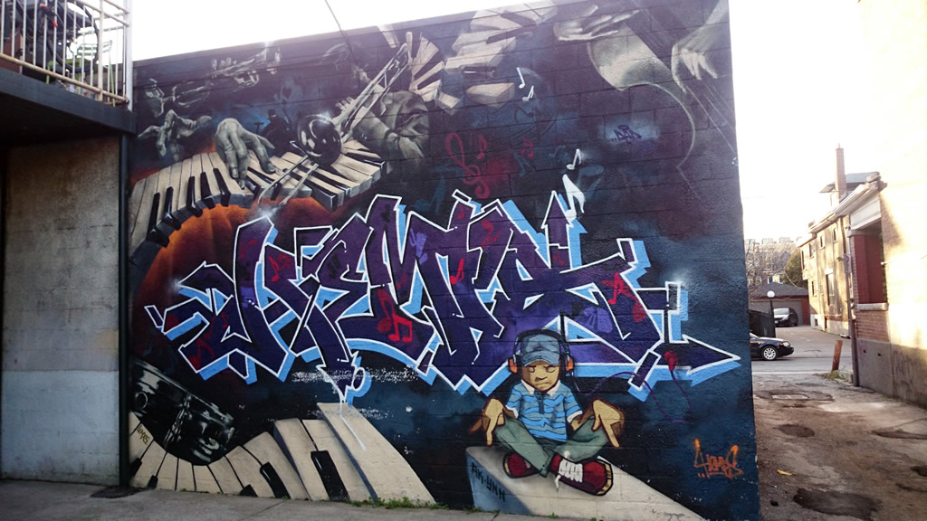 Toronto Street Art & Graffiti