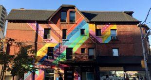 Gay Village Church Street Mural Project