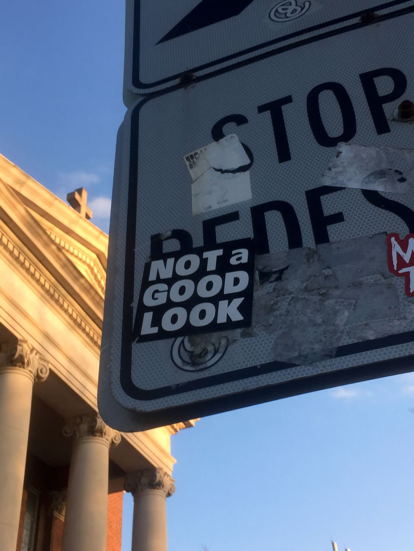 Toronto Graffiti Street Art Sticker Slap
