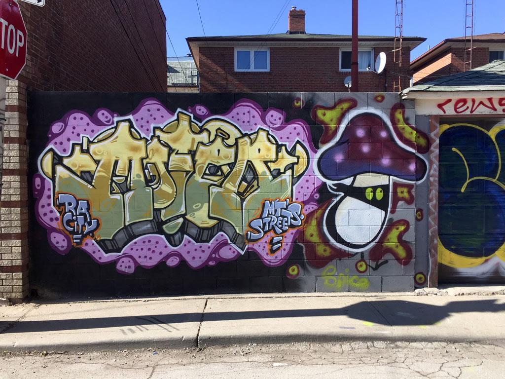 Toronto Graffiti Street Art