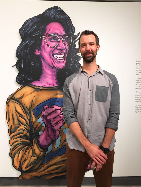 Jeff Blackburn Art Show Steppin Out